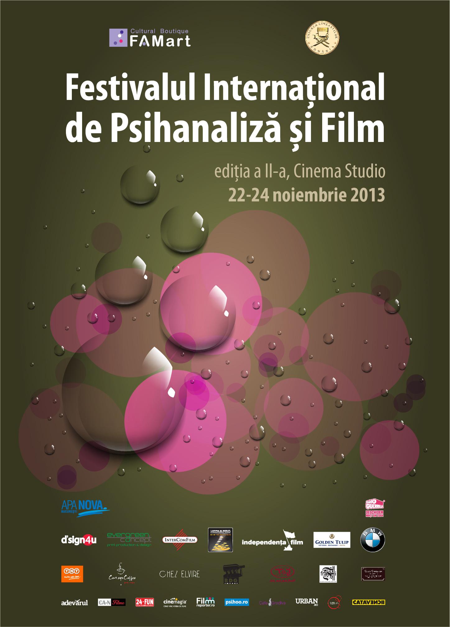 festival psihanaliza si film cinema studio irina margareta nistor psihoo