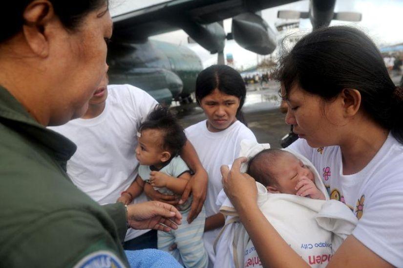 filipine taifun la psiholog