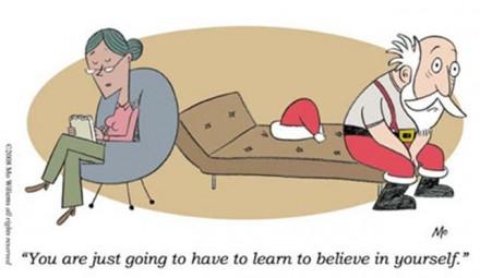 santa on the couch mos craciun psihiatru psihoterapeut psihanalist