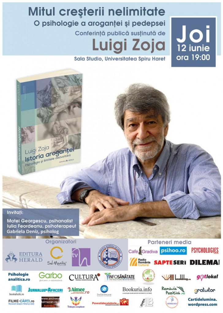 Editura Herald Luigi Zoja O psihologie a pedepsei si a arogantei