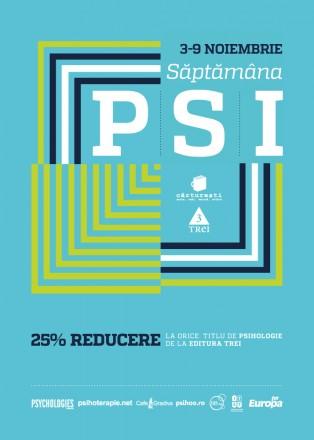saptamana psi 2014 la psiholog psihoterapeut psihanaliza editura trei